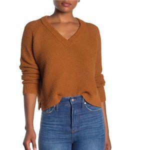 Madewell Hemlock V-Neck Pullover Sweater